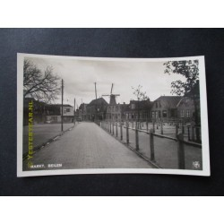Beilen ca. 1930 - Markt -molen