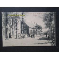 Goirle ca. 1915 - gezicht op Raadhuis