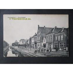 Zevenbergen 1911 - Havengezicht