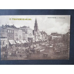Groningen 1920 - Vischmarkt