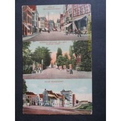 Venlo 1909 - kaart met 3 afb. v.d.stad