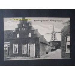 Leek 1915 - Pulverhuisje + molen