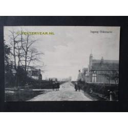 Oldemarkt 1922 - Ingang