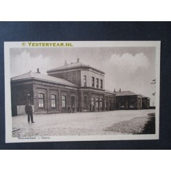 Nieuweschans 1920 - station