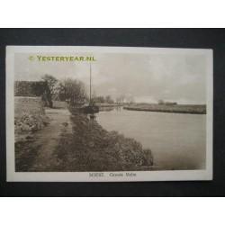 Soest 1925 - Grote Melm - turf losplaats