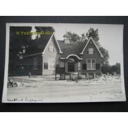 Luyksgestel 1933 - fotokaart Raadhuis