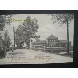 Koog Zaandijk 1901 - Spoorstraat en station