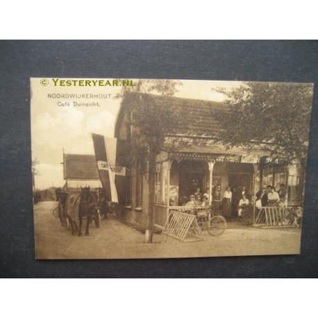 Noordwijkerhout 1915 - cafe Duinzicht