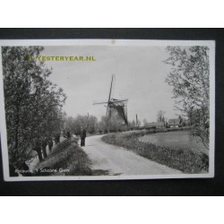 Abcoude 1955 - molen -Schone Gein