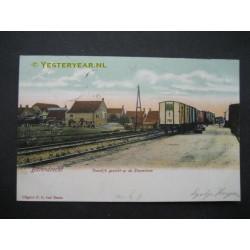 Barendrecht 1905 - Voordijk stoomtram