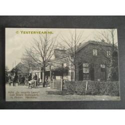 Harskamp 1914 - hotel de Vergulde Leeuw -stalhouderij
