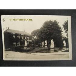 Zaandijk 1934 - fotokaart beeldentuin