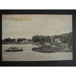 Buiksloot 1915 (bij Oostzaan) Haven - pontveer