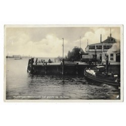 Vlaardingen 1935 - Westerhoofd - de Maas
