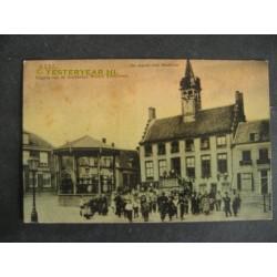 Axel 1905 - Markt - stadhuis - kiosk