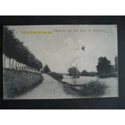 Engelen 1910 - gezicht op het veer
