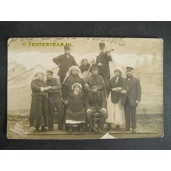 Tilburg ca. 1930 - fotokaart oude revue