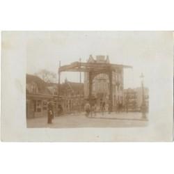 Amsterdam 1920 - fotokaart bij de brug
