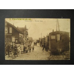 Walsoorden ca. 1920 - vertrek stoomtram