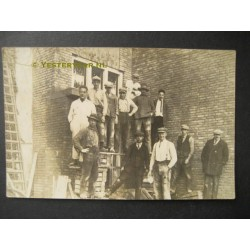 Wormerveer ca. 1925 - fotokaart-fabriekspersoneel