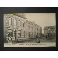 Eijsden 1909 - Stationsplein