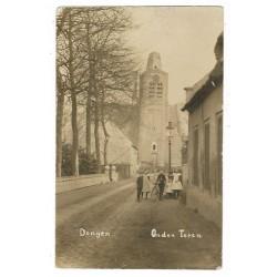 Dongen 1925 - oude toren - fotokaart