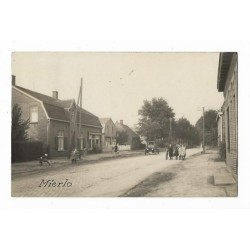 Mierlo 1929 - dorpsstraat - fotokaart