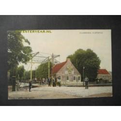 Zuidbroek 1925 - klapbrug