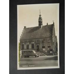 IJsselstein 1940 - autobus - stadhuis