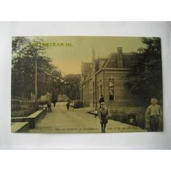 Ammerstol 1908 - Dijk pastorie en postkantoor