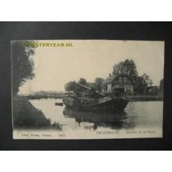 Dieverbrug 1905 - gezicht op de sluis