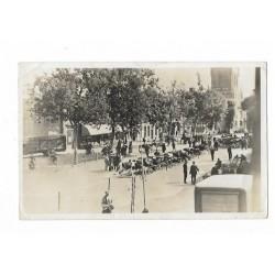 Elst 1941 - Dorpsstraat met veemarkt
