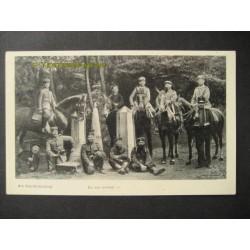 Vaals 1915 - Vierlandenpunt - soldaten