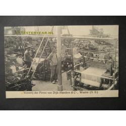 Waalre 1911 - weverij van Dijk Manders