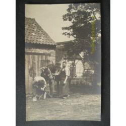 Hoefsmid Landleven Dorpsleven 1915 Onbekend Fotokaart