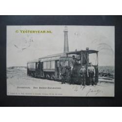Den Helder 1905 - stoomtram -naar Huisduinen