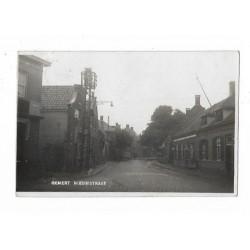 Gemert 1935 - Nieuwstraat - fotokaart