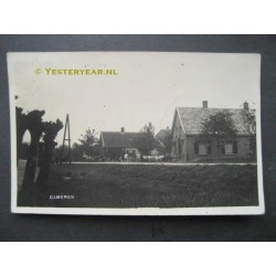 Gameren 1930 - dorpsgezicht - fotokaart