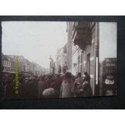 Koninklijk bezoek - fotokaart onbekend