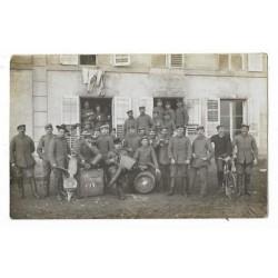 Militairen 1914 - fotokaart onbekend