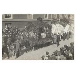 Den Haag Vrouwenemancipatie 1923 - fotokaart