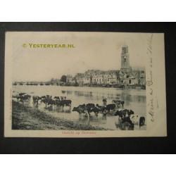 Deventer 1901 - gezicht op