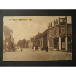 Ammerzoden 1915 - Voorstraat met Albert Heijn