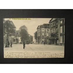 Den Haag 1906 - Korte Voorhout met Schouwburg