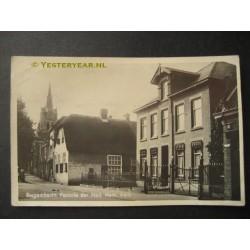 Bergambacht 1940 - pastorie Herv.Kerk