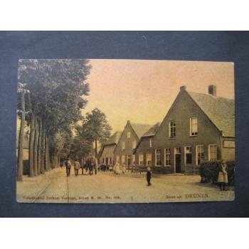 Drunen 1908 - groet uit - Berkers Verbunt