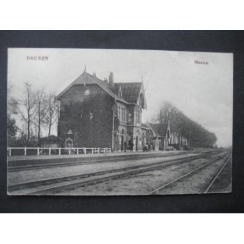 Drunen 1918 - Station