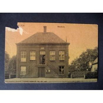 Den Dungen 1908 - Raadhuis - Berkers Verbunt