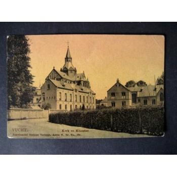 Vught (Vucht) 1910 - kerk en klooster - Berkers Verbunt