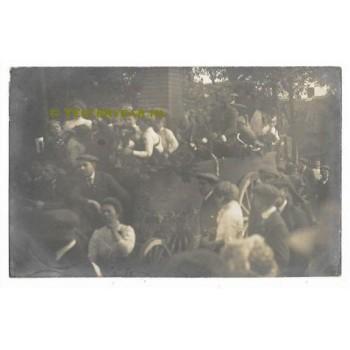 sGravenmoer 1913 - fotokaart - optocht